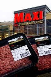 Ica har fuskat med datumen på köttfärs. Det visste cheferna om. Foto: Pontus Lundahl/Scanpix