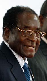 Zimbabwes president Robert Mugabe. Foto: Scanpix