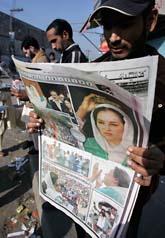 Benazir Bhuttos död har gjort att hela Pakistan råkat i kris. Många undrar om det kommer att bli några val till parlamentet efter mordet. Foto: Scanpix