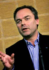 Jan Björklund vill att det ska byggas nya kärnkraftverk. Foto: Scanpix