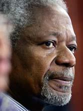 Kofi Annan. Foto: Ben Curtis/Scanpix