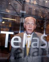 Telia Soneras chef Lars Nyberg. Foto: Lars Pehrson/Scanpix