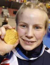Ida-Theres Nerell vann EM-guld i brottning: Foto: Scanpix