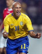 Henke Larsson är tillbaka i landslaget. Foto: Scanpix