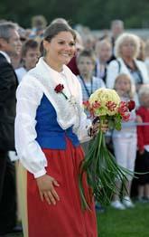 Kronprinsessan Victoria firades på Öland på måndagen. Då fyllde hon 31 år. Foto: Fredrik Sandberg/Scanpix