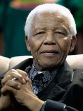 Nelson Mandela fyller 90 år. Foto: Themba Hadebe/Scanpix