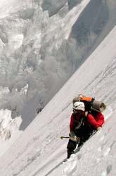 Minst elva klättrare dog i helgen på berget K2. Foto: Scanpix