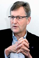 Jan-Åke Jonsson är chef för Saab. Foto: Tomas Oneborg/Scanpix