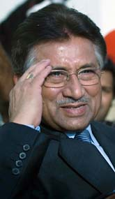 Pervez Musharraf slutar som president i Pakistan. Foto: Emilio Morenatti/Scanpix