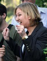Tzipi Livni är Israels nya ledare. Foto: Alon Ron/Scanpix.