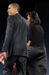Barack Obama och hans fru Michelle Obama. Foto: Jae C Hong/Scanpix