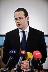 Finansminister Anders Borg. Foto: Marc Femenia/Scanpix