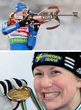 Helena Jonsson vann guldmedalj i går, söndag. Foto: Lee Jin-man/Scanpix.