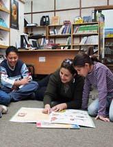 En bild från Tamerinstitutet. Nu får de miljoner till sitt arbete. Foto: Alma/Scanpix