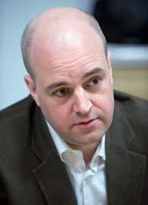 Statsminister Fredrik Reinfeldt. Foto: Maja Suslin/ Scanpix
