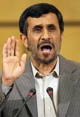 Irans ledare Mahmoud Ahmadinejad. Foto: Anja Niedringhaus/Scanpix