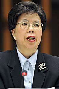 Margaret Chan är chef för WHO. Foto: Martial Trezzini/Scanpix