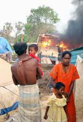 Flyktingar i Sri Lanka. Foto: AP Photo/Scanpix