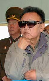 Nordkoreas ledare Kim Jong Il. Foto: Scanpix