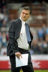 Djurgårdens tränare Zoran Lukic. Foto: Fredrik Sandberg/Scanpix