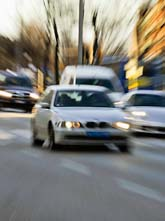 Bilförare i Stockholm bryter oftast mot fartgränserna. Foto: Bertil Ericson/Scanpix