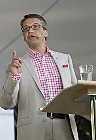 Göran Hägglund i Almedalen, Foto: Leif R Jansson/Scanpix