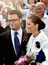 Daniel och Victoria firade prinsessans 32-årsdag. Foto: Paul Madej/Scanpix