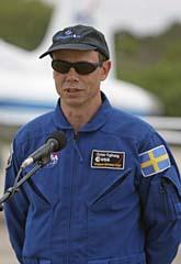 Christer Fuglesang är Sveriges ende astronaut. Foto: Scanpix