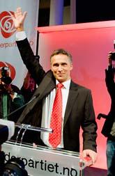 Jens Stoltenberg fortsätter att vara statsminister. Foto: Heiko Junge/Scanpix