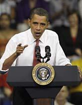 Barack Obama. Foto: AP/Rob Carr/Scanpix