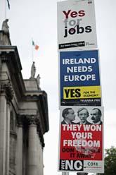 Valet i Irland är viktigt för EUs framtid. Foto: Peter Morrison/AP/Scanpix