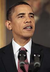 USAs president Barack Obama får fredspris. Foto: Pablo Martinez Monsivais/AP/Scanpix
