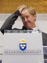 Miljöminister Andreas Carlgren säger ja till gasledning. Foto: Henrik Montgomery / SCANPIX