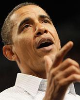 President Obama lovar att USA ska få hårdare miljölagar. Foto: Jim Mone/Scanpix