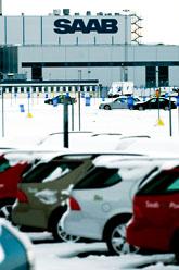 Saabfabriken i Trollhättan. Foto: Adam Ihse/Scanpix