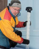 I Idre visade termometern minus 34 på onsdagen. Foto: Nisse Schmidt/Scanpix