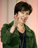 Mona Sahlin vill ändra sjukförsäkringen. Foto: Bertil Ericson/Scanpix
