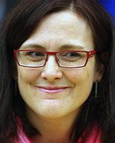 Cecilia Malmström blir ny EU-kommissionär. Foto: Christian Lutz/Scanpix