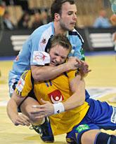 Sverige förlorade mot Slovenien i EM. Foto: Kerstin Jönsson/Scanpix
