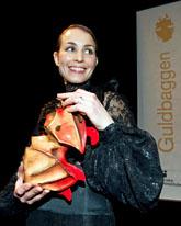 Noomi Rapace fick pris på filmgalan. Foto: Bertil Ericson/Scanpix