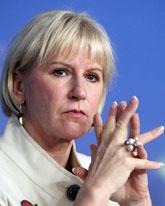 Margot Wallström. Foto: Geert Vanden/Scanpix