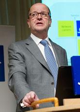 SAS-chefen  Mats Jansson. Foto: Henrik Montgomery/Scanpix