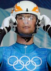 Nodar Kumaritasvili dog i en olycka i rodelbanan i OS i Vancouver. Foto: Elise Amendola/Scanpix