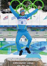 Björn Ferry vann OS-guld. Foto: Andrew Medichini/Scanpix
