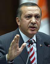 Turkiets premiärminister Recep Tayyip Erdogan. Foto: Burhan Ozbilici/Scanpix