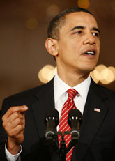 USAs president Barack Obama. Foto: Pablo Martinez/Scanpix