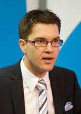 Jimmie Åkesson är ledare för Sverigedemokraterna. Foto: Björn Lindgren/Scanpix