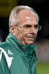 Sven-Göran Eriksson leder Elfenbenskusten i fotbolls-VM. Foto: Pontus Lundahl/Scanpix