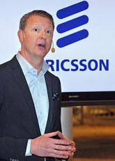 Ericssons chef Hans Vestberg. Foto. Bertil Ericson/Scanpix
