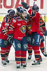 Djurgården vann första finalmatchen. Foto: Claudio Bresciani/Scanpix